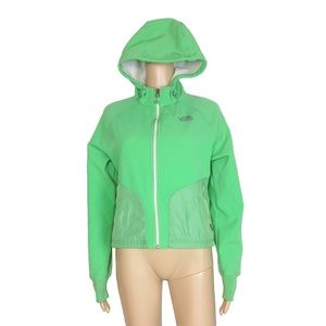 Like new! North Face green Apex zip up jacket